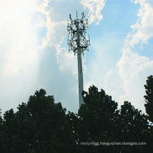 Microwave Communications Power Transmission Tower