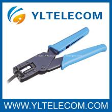 RG-59(4C)/RG-6(5C) outils Coaxial F connecteur gaufreur