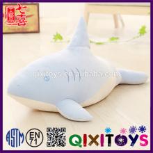 Boa qualidade bicho de pelúcia macio tubarão brinquedos por atacado