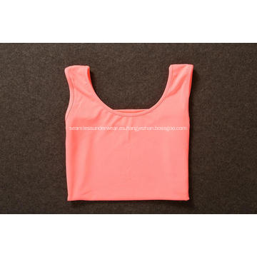Mujer Yoga Gym Sports Fitness Loose Tank