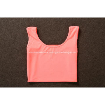 Mulher Yoga Gym Esportes Fitness Loose Tank