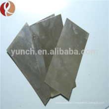 ASTM B386-91and GB3876-83 Mo360 Mo361 Mo364 molybdenum plates /sheets,polished molybdenum foil/sheets/plates for sale
