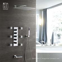 Robinet en laiton de robinet de réglage de la température de robinet de salle de bains