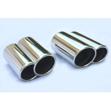 Porsche Dual Exhaust Tips Gemelos