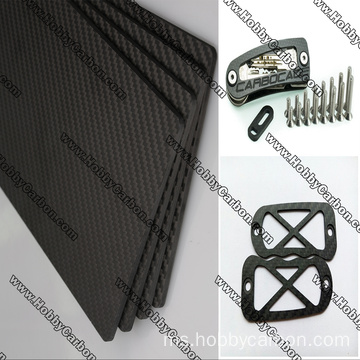 CNC Cuting Service Carbon Fiber Board / sheet / plate