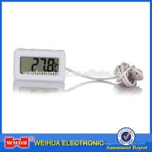 Termómetro digital con humedad Medidor de temperatura digital Termómetro interior y exterior TM-2B