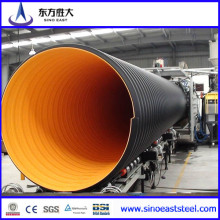 Large Diameter Steel Reinforced PE Corrugated Pipe for Running Water
