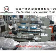 Linha plástica DKSJ-140A / 125 da peletização do LDPE do desperdício HDPE