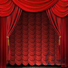 China 2014 attraktive Bühnenvorhang Stoff