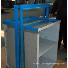 Elevador de montacargas / Pequeño ascensor de alimentos con conductor de CA / Ascensor de cocina