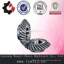 Crane Spiral Bevel Gear For Heavy Crane Machinery