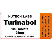 USA domestic Turinabol 25mg 100 tablets