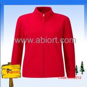 Women 100% Polyester Polar Fleecy Fit Jacket (JK12012)