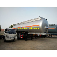 35T 34000 litres Sodium Hydroxide Tanker Trailers