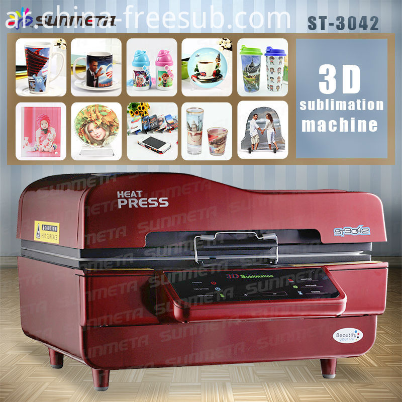 FREESUB 3D Vacuum Sublimation Printing for Sale
