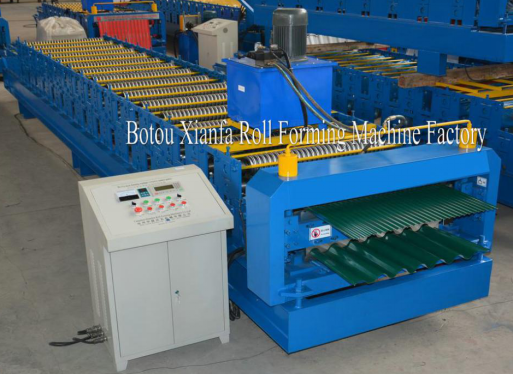 Double Corrugated Roll Forming Machine