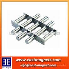 Self-cleaning grate Neodymium magnet/ndfeb magnet magnetic filter bar/strong magnet filter for sale
