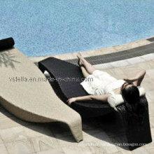 Outdoor Rattan Beach Patio Wicker Sonnenliege