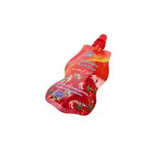 Bolsa de pie con embalaje de boquilla