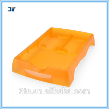 Plastic flat job tray for optical