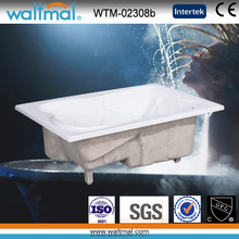 Drop in 2 Person Acrylic Rectangular Bathtub (WTM-02308b)