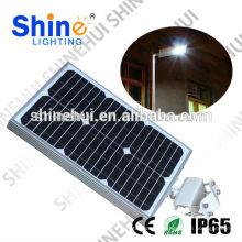 Los lúmenes altos llevaron la luz de steet super brillante IP65 integrada luz de calle del panel solar