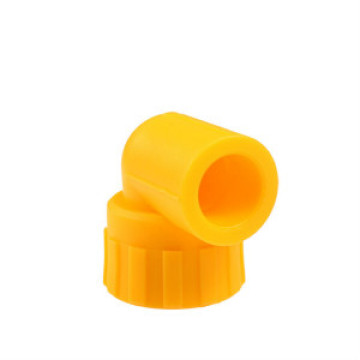 Plastic pipe fittings reducing 90 degree elbow
