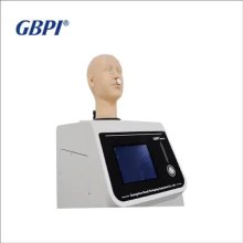Fabric  Non-Woven Mask Breath Respiratory Resistance Tester, Mask Exhalation Inhalation Respiratory Resistance Testing Machine