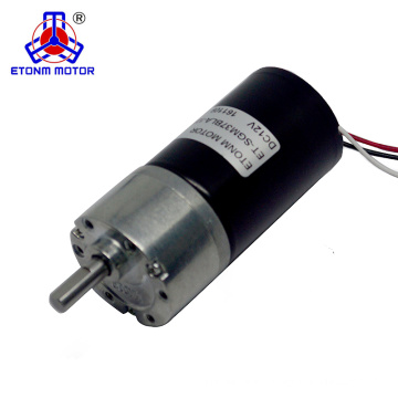 low voltage low rpm high torque dc gear motor brushless