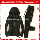 Wholesale Cheap Custom Made Plain Cotton Tracksuits with Pockets