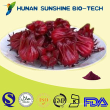 Natural Roselle Extract 10% Polyphonols ( Hibiscus sabdariffa L ) as Dietary Supplement Ingredients