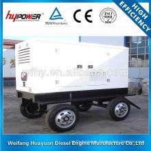 Generador diesel de cuatro ruedas
