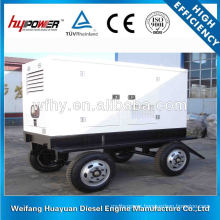 Four Wheels Trailer diesel generator