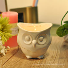 Owl Ceramic Votive Candle Holder