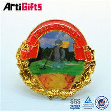 Sophisticated technology custom printed badges yoyo