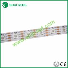 Tira do diodo emissor de luz de APA102C, 60 diodos emissores de luz / 60 pixéis por a tira endereçável do diodo emissor de luz do RGB do medidor