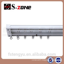 Construction Project Multi-use Curtain Track Pvc Double ceiling bracket rails