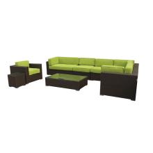 Mobília ao ar livre contemporâneas Hotel estilo sofá de canto