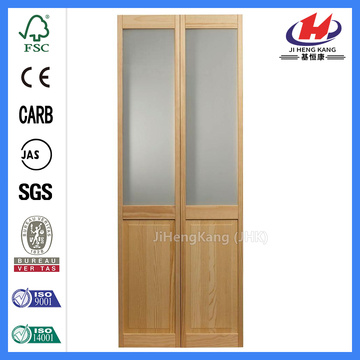 JHK- Toilet Tempered Bifolding Glass Doors