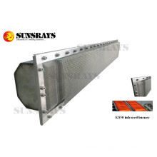Special Infrared Burner for Seafood Drying