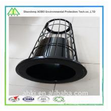 Jaula de filtro del bolso del colector de polvo de la industria con Venturi