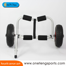 Onefeng detachable aluminum kayak trolley cart