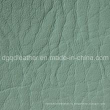 Выбитый полу-искусственная кожа для мешка (qdl по-BS015)