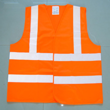 Polyester High Visibility Reflective PVC Safety Vest with En471 Certificate