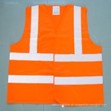 Waistcoat reflexivo de alta visibilidade para trabalho de segurança ao ar livre