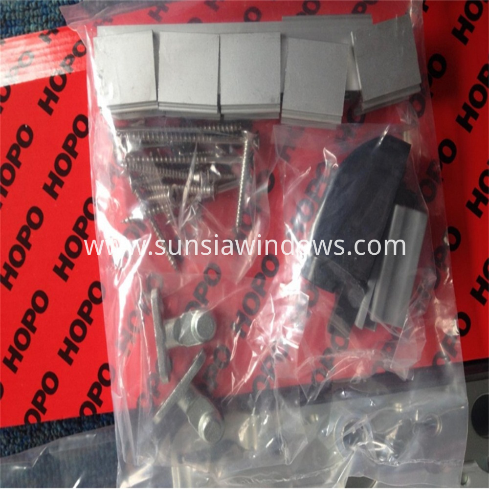 Accessory Bag for Lift and Slide Door System