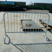 Removable Galvanized Crowd Control Safety Barrier Fence