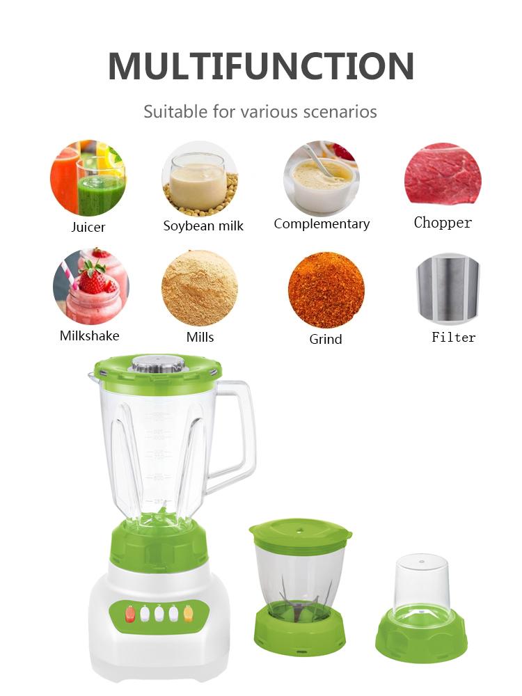 3 Speeds Kitchen Juicer Blender Combo Walmart