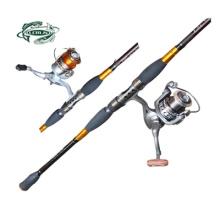 De Bonne Qualité Spinning Fishing Reel Combo Canne à pêche Combo