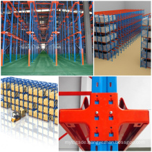 Nanjing Jracking Warehouse Storage Push Back Pallet Racking System